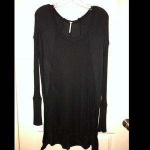 Free people black sweater
